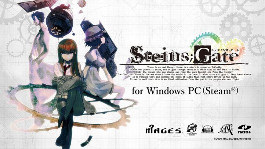 Steins;Gate-Steam-Announcement