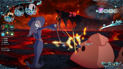Little Witch Academia The Witch of Time and the Seven Wonders Updated Screenshots 08