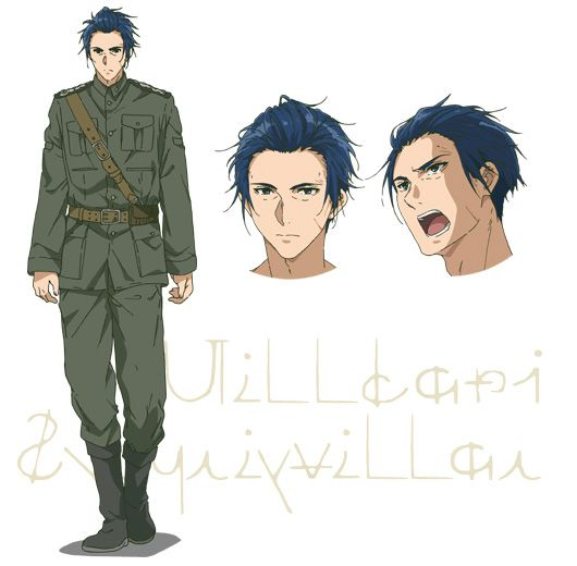 Violet-Evergarden-Anime-Character-Designs-Gilbert-Bougainvillea