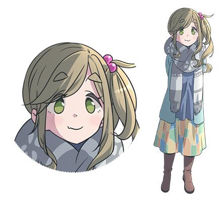 Yuru-Camp-Anime-Character-Designs-Aoi-Inuyama