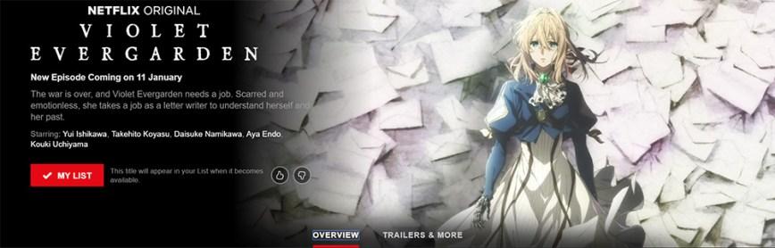 Netflix-India-Violet-Evergarden-Listing