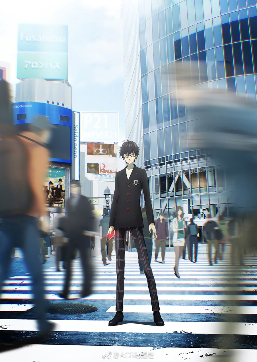 Persona-5-The-Animation-Ren-Visual