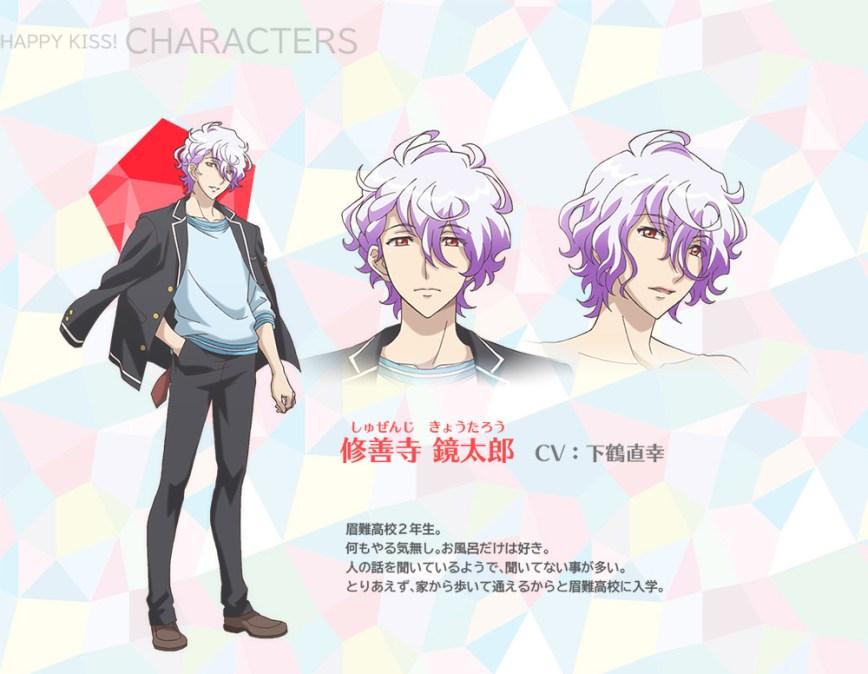 Binan-Koukou-Chikyuu-Bouei-bu-Happy-Kiss!-Character-Designs-Kyoutarou-Shuzenji