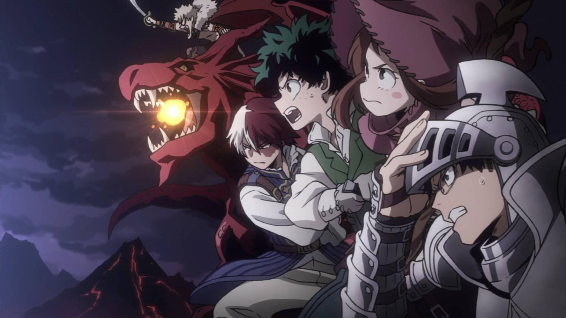 Fans Really Want a My Hero Academia Fantasy-Style OVA
