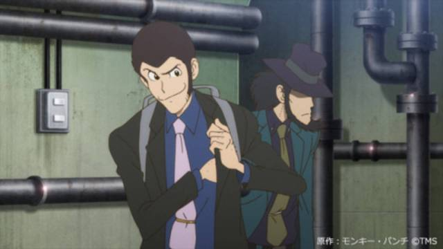Lupin the Third Black Jacket