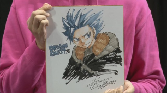 Hiro Mashima Dragon Quest XI