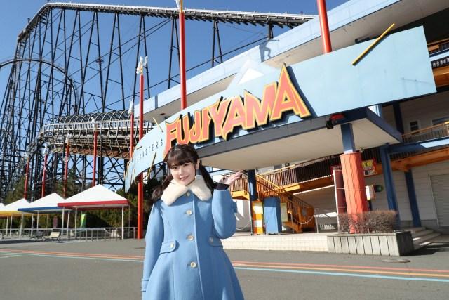 Ayana Taketatsu at Fuji-Q Highland