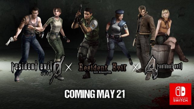 Slew of Classic Resident Evil Games Coming to Nintendo Switch