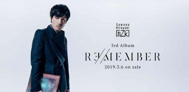 Hiroyuki Sawano Unveils New Tracks on his Third nZk Vocal Project Album R∃/MEMBER