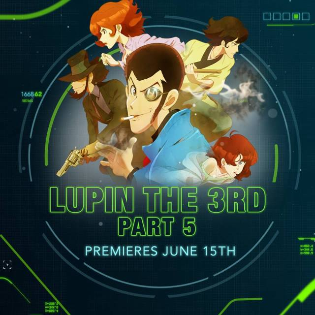Lupin the Third Part 5 announcement