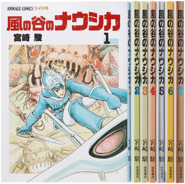 Nausicaä 35: Miyazaki's Long Lost Twelve Year Manga Journey