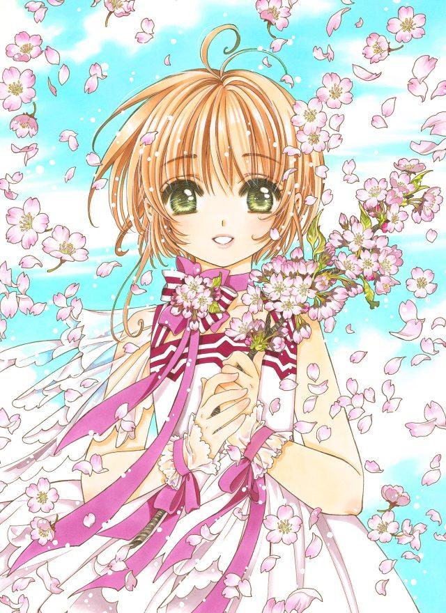 Card Captor Sakura Exhibition Original Illustration By Clamp