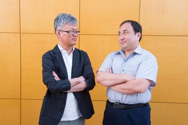Takekawa Shingo and Kurita Hiroshi