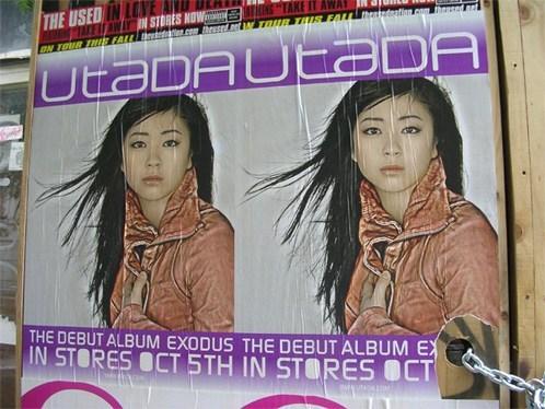 Utada Poster