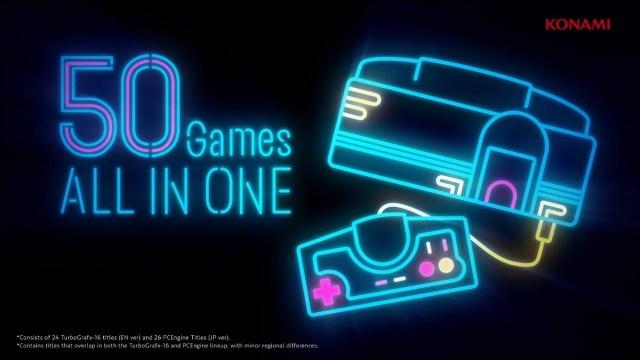 KONAMI Jumps On Mini Console Bandwagon With TurboGrafx-16 Mini