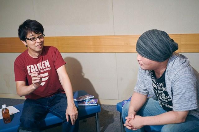 Kento Shinohara and Masaomi Ando interview