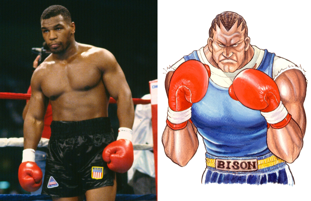 Mike Tyson Comes Face to Face With 'Street Fighter' Balrog Lookalike