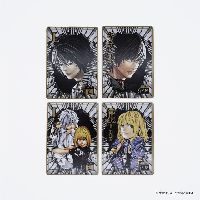 Death Note board game True Identity cards