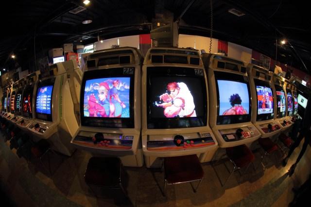 Arcade Cabinets @ Mikado Takadanobaba