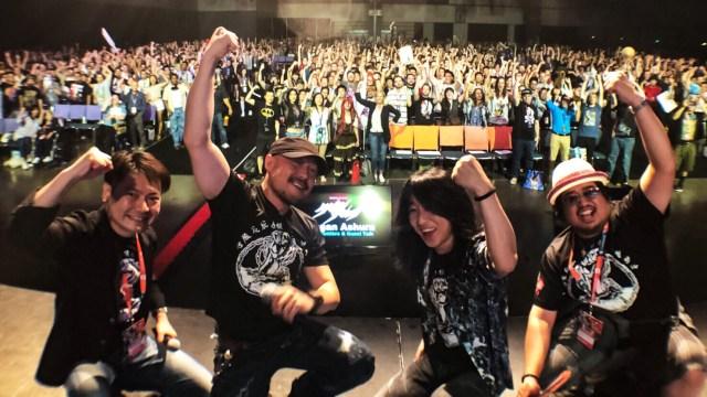 Kengan Ashura Team @ Anime Expo
