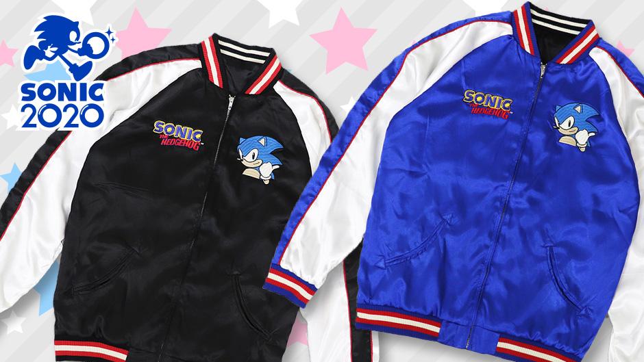 Skullworks Co Announce Sonic The Hedgehog Sukajan Jacket