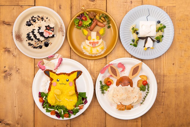 Pokemon Cafe New Items
