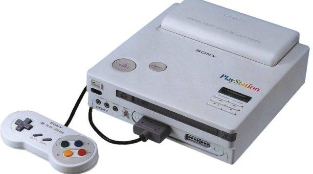 Nintendo PlayStation Original mockup photo