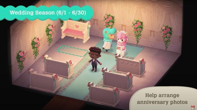 Animal Crossing: New Horizons - Wedding Season