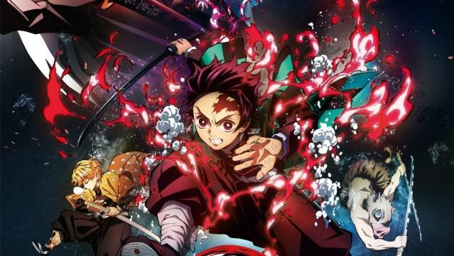 Demon Slayer: Kimetsu no Yaiba The Movie anime visual