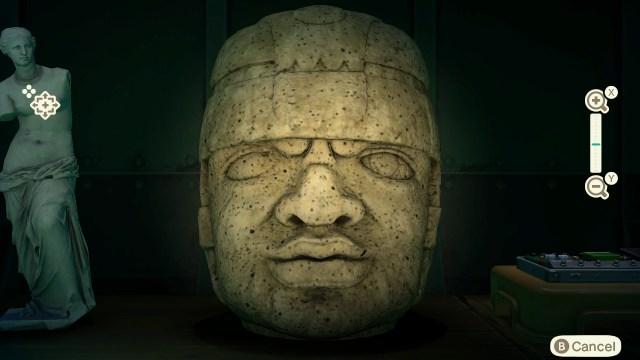Animal Crossing: New Horizons - Rock-head Statue (fake)