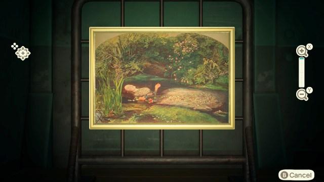Animal Crossing: New Horizons - Sinking Painting