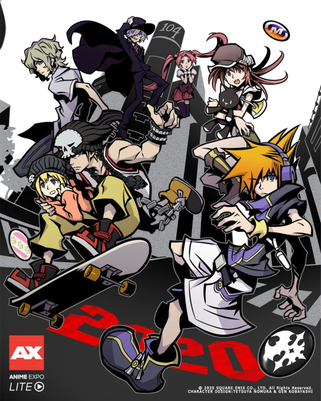 New The World Ends With You Poster Has Us Asking Questions
