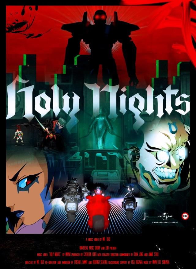 MIYAVI Holy Nights MV poster