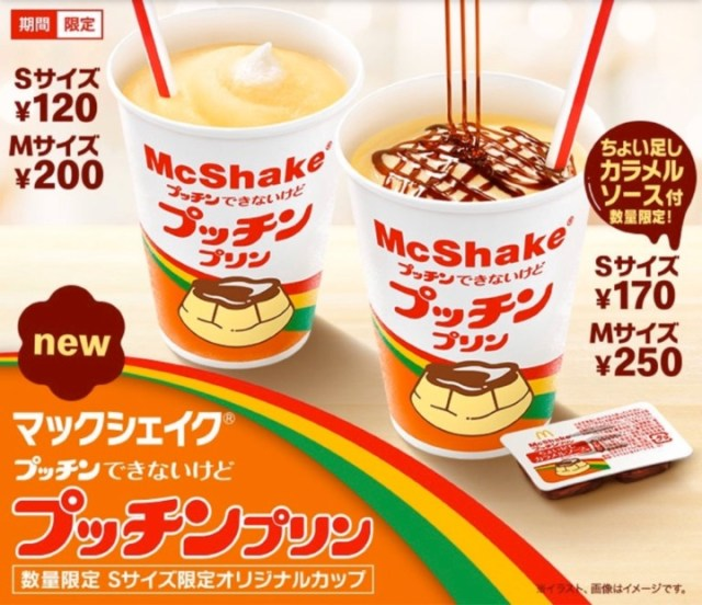 Petit pudding McShake