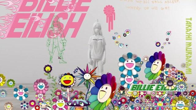 Uniqlo Billie Eilish x Takashi Murakami