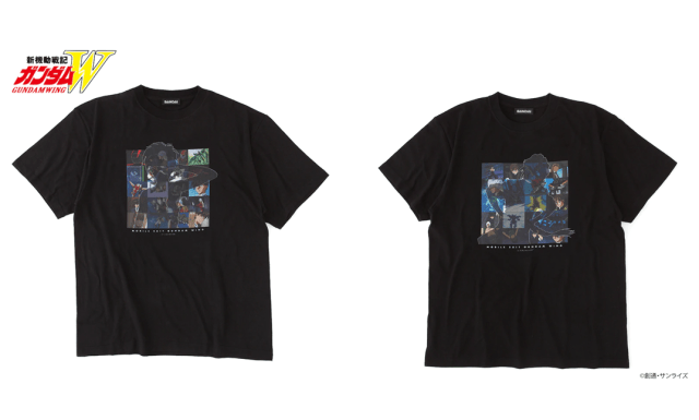 Gundam Wing Shirts
