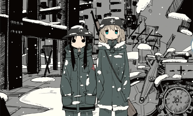 Girls' Last Tour volume 1