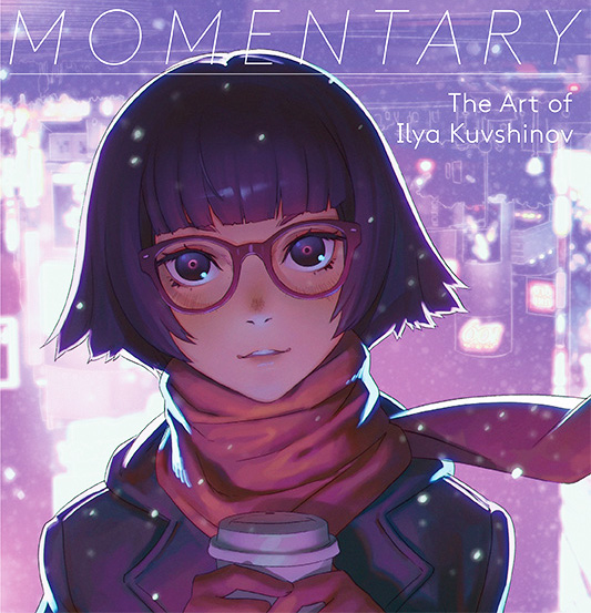 Momentary The art of Ilya Kuvshinov