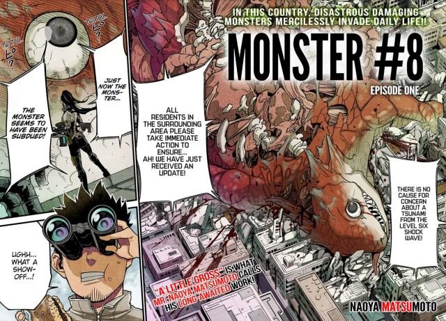 Monster #8 Chapter 1