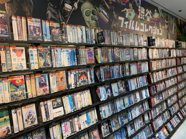 Shibuya TSUTAYA Store Renewal Means Customers Can Now Rent Over 6000 VHS Tapes
