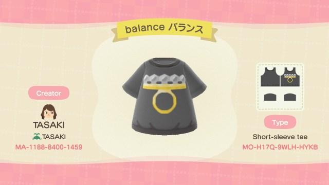balance ring shirt