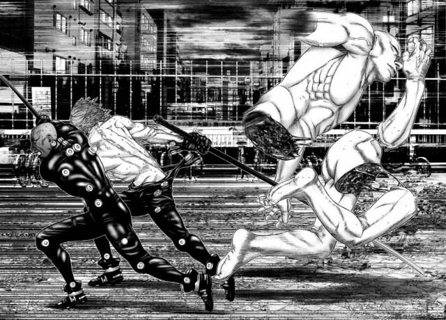 Gantz manga page