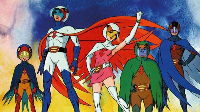 Bird-Themed Heroes from the '70s: Gatchaman