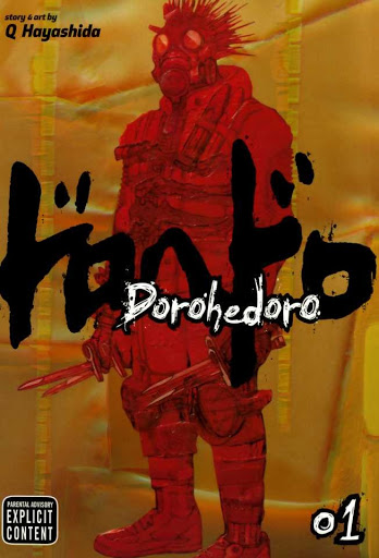 Dorohedoro Manga Vol 1 Cover