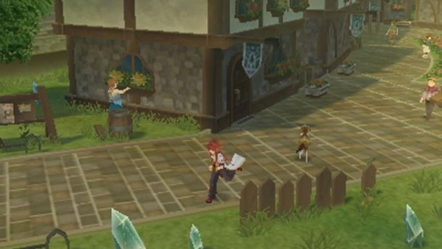 Tales of the Abyss Gameplay
