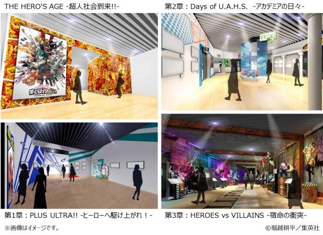 My Hero Academia DRAWING SMASH Exhibition