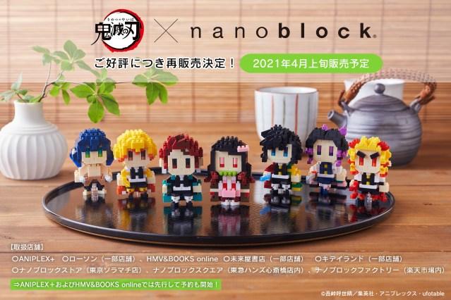 Nanoblock Kimetsu Collection image