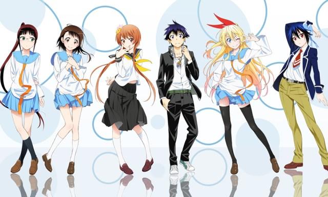 The characters of Nisekoi