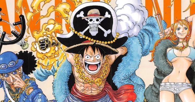 One Piece anime illustration