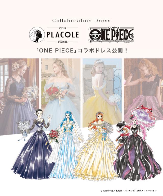 One Piece Wedding Dress